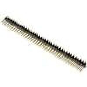 Kolíková lišta kolíkové vidlice PIN:80 svislý 2,54mm SMT