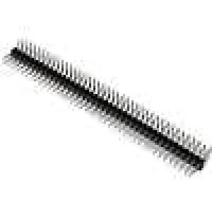 Kolíková lišta kolíkové vidlice PIN:80 úhlové 90° 2,54mm THT