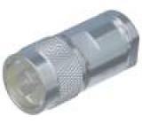 Zástrčka N vidlice přímý 50Ω RG213,RG8(A), URM67 na kabel