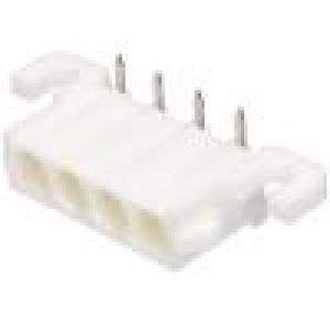 Zásuvka kabel-pl.spoj vidlice 6,35mm 4 PIN THT úhlové 90°