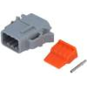 Konektor vodič-vodič ATM zásuvka 16-22AWG 8 PIN IP67,IP69K