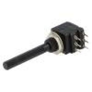 Potenciometr axiální, jednootáčkový 220kΩ 200mW THT 6mm plast