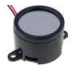 PEB90S Akustický měnič elektromagnetický bzučák 3kHz 40mA Ø:28mm