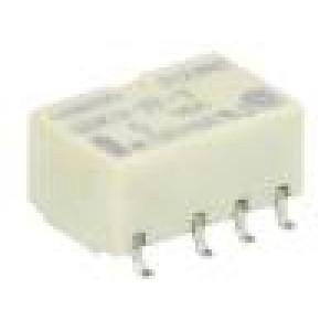 G6KU-2F-Y-5DC Relé elektromagnetické DPDT Ucívky:5VDC 0,3A/125VAC 1A/30VDC