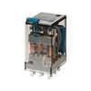 Relé elektromagnetické 3PDT Ucívky:48VDC 10A/250VAC 2,4kΩ