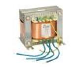 Transformátor síťový 230VAC 168V 313V 28V 10,5V 6,4V 6,4V