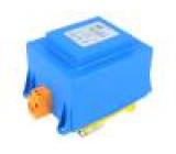 Transformátor zalévaný 100VA 230VAC 12V 8,33A na DIN lištu
