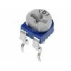 Trimr jednootáčkový ležatý 1MΩ 100mW ±30%