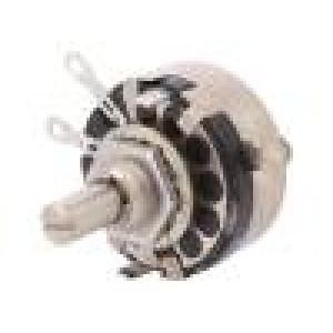 Potenciometr axiální, jednootáčkový 10kΩ 2W ±20% pájení 6mm