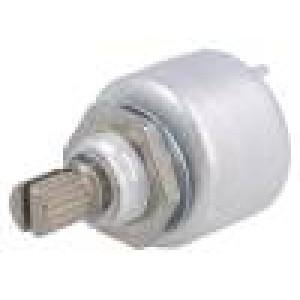 Potenciometr axiální, jednootáčkový 220kΩ 1W ±20% 6mm THT