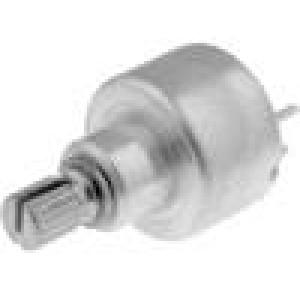 Potenciometr axiální, jednootáčkový 2,2kΩ 1W ±20% 6mm THT