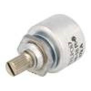 Potenciometr axiální, jednootáčkový 47kΩ 1W ±20% 6mm lineární
