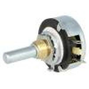 Potenciometr axiální, jednootáčkový 1kΩ 2W 6mm drátový