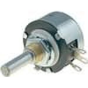 Potenciometr axiální, jednootáčkový 2,2kΩ 2W 6mm drátový
