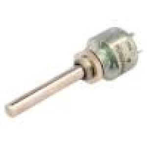 Potenciometr axiální, jednootáčkový 10kΩ 3W ±20% 6mm lineární