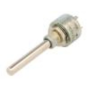 Potenciometr axiální, jednootáčkový 1kΩ 3W ±20% 6mm lineární