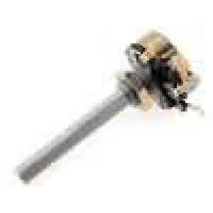 Potenciometr axiální, jednootáčkový 100Ω 4W 6mm drátový
