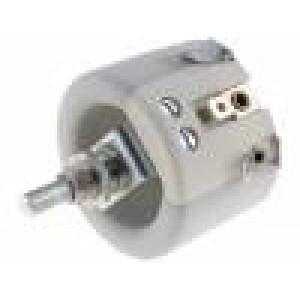 Potenciometr axiální, jednootáčkový 220Ω 60W 6mm keramický