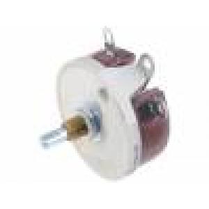 Potenciometr axiální, jednootáčkový 50Ω 50W 6,35mm drátový