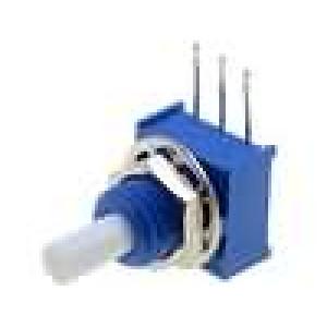 Potenciometr axiální, jednootáčkový 2kΩ 250mW ±20% 3,18mm