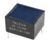Tlumivka vinutá 160uH 1,6A 127mΩ THT -40-125°C 15x17,5x11mm