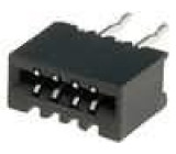 Konektor FFC / FPC přímý THT NON-ZIF 4 PIN 1mm pocínovaný