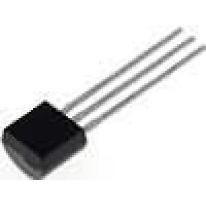 MCP9701-E/TO Čidlo teploty převodník teploty -40-.125°C TO92 THT 3,1-5,5V