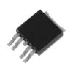 BTS443P Driver high side switch 2,3A 43V Kanály:1 TO252-5