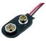 Konektor 6F22 Počet čl:1 s vodičem 150mm