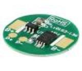 Ochrana PCB Li-Ion Ø18,5mm 2,5A 3,6VDC