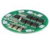 Ochrana PCB Li-Ion Ø40mm 10A 14,8VDC