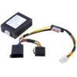 Automobilový napájecí zdroj ISO vidlice 12V Ivýst:5A