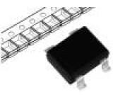 Usměrňovací můstek 20V 1A SMD Vlastností Schottky