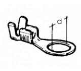 kabelové oko prstencové - 8 x 0,8 - 4
