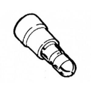 zástrčka kruhová izol.   - 5 x 2,5 - 6