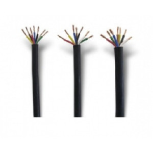 kabel černý - 7 x 1,5 mm2