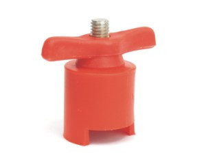 svorka akumulátoru červená + - 19 mm