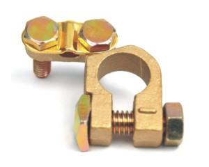 svorka akumulátoru mosaz - 120 g - 17 mm