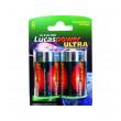 baterie alkalická LR20 (2ks)