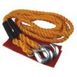 tažné lano s háky, 2500-4000kg, délka 4m