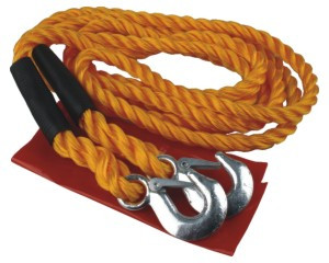 tažné lano s háky, 4000-6000kg, délka 4m