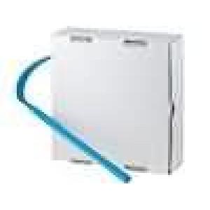 Teplem smrštitelná trubička 2:1 9,5mm modrá polylefin