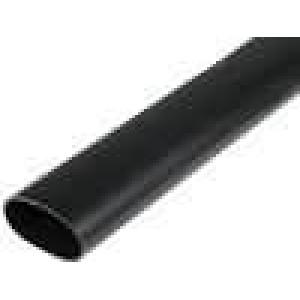 Teplem smrštitelná trubička s lepidlem 6:1 44,4mm L:1000mm