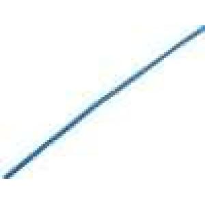 Teplem smrštitelná trubička 3:1 1,5mm L:200mm modrá