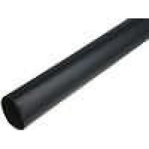 Teplem smrštitelná trubička 4:1 40mm L:1000mm černá