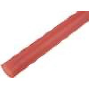 Teplem smrštitelná trubička 12,7mm L:1m 2:1 hnědá