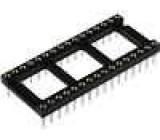Patice DIP 32 PIN 15,24mm zlacený polyester dvýv:0,51mm 3A