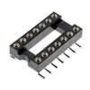 Patice DIP 14 PIN 7,62mm Kontakty slitina mědi SMT 0-85°C