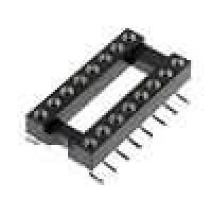 Patice DIP 16 PIN 7,62mm Kontakty slitina mědi SMT 0-85°C