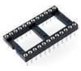 Patice DIP 24 PIN 15,24mm zlacený polyester UL94V-0 1A THT